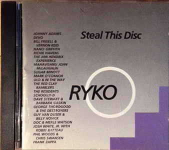 how to steal a cd